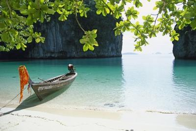 Beach on Ko Hong Island by José Fuste Raga
