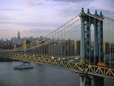 Brooklyn Bridge and Manhattan by José Fuste Raga