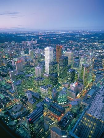 Downtown Toronto by José Fuste Raga