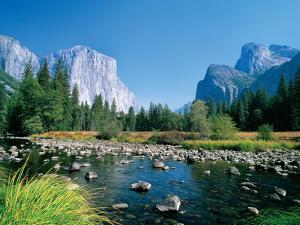 El Capitan and the Yosemite Valley by Jose Fuste Raga
