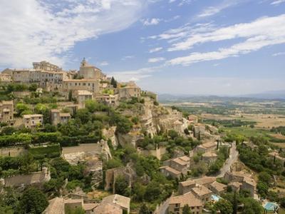 Hillside Town of Gordes in France by José Fuste Raga