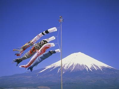 Japan: Mount Fuji and windsocks by José Fuste Raga