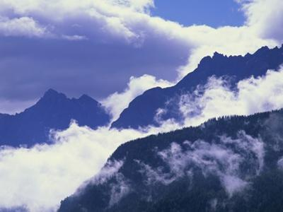 Mountains Shrouded by Clouds by José Fuste Raga