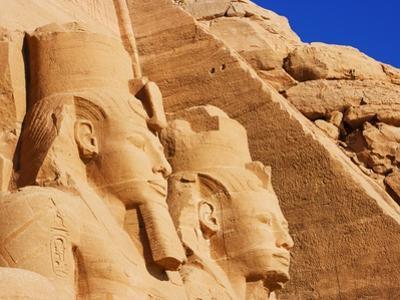 Seated Colossi of Ramesses II at Abu Simbel by José Fuste Raga