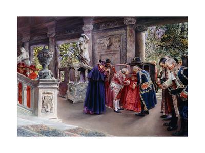 The Cardinal Visits; La Vista Del Cardinal