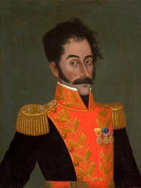 Portrait of Simón Bolívar, C. 1823 by José Gil de Castro