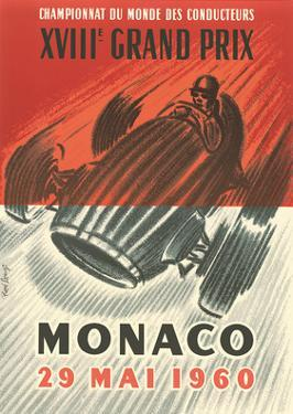 1960 XVIII Monaco Grand Prix - Formula 1 - Drivers World Championship by Jose Lorenzi