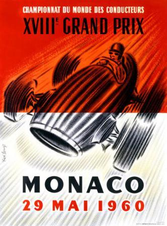 Monaco Grand Prix F1, c.1960 by Jose Lorenzi