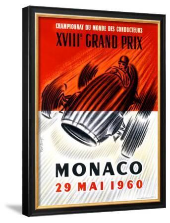 Monaco Grand Prix F1, c.1960 by Jose Lorenzi