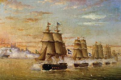 Naval Battle in Front of Montevideo, 1826