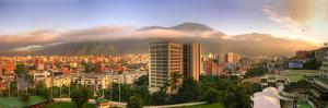 Caracas. Amanece En La Ciudad Con El M by Jose Manuel Azcona