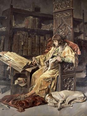 Charles, Prince of Viana, 1881 by Jose Moreno carbonero
