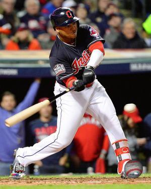 Jose Ramirez Double Game 1 of the 2016 World Series