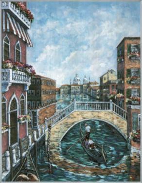 Jose Venice Canal # 1 Art Print POSTER Italy gondola