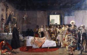 The Death of the Bullfighter by Jose Villegas Cordero