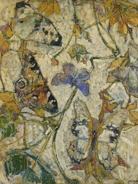 Butterflies; Les Papillons, 1918 by Josef Albert