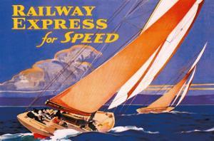 Railway Express for Speed by Josef Fenneker