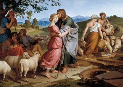 Jacob Encountering Rachel with Her Father's Herds