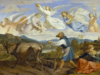 The Dream of St. Isidor, 1839