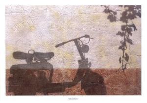 Old Moterbike Shadow by Josep Cisquella