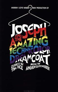 Joseph and the Amazing Technicolor Dreamcoat - Broadway Poster