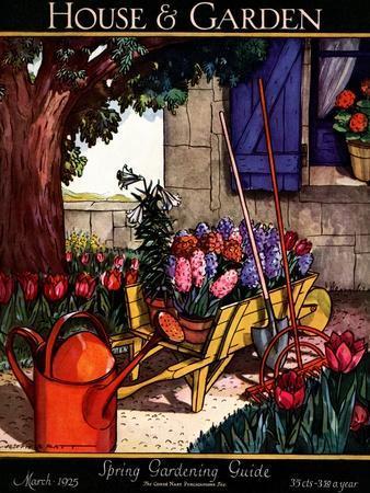 House & Garden Cover - March 1925