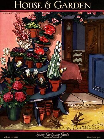 House & Garden Cover - March 1926