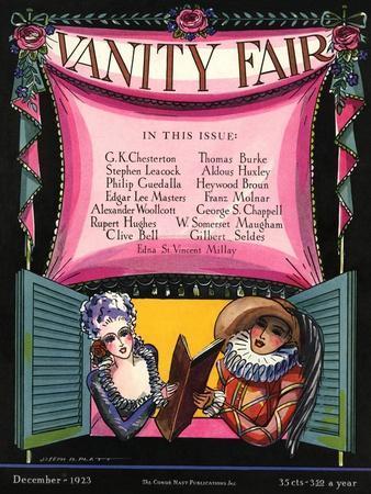 Vanity Fair Cover - December 1923