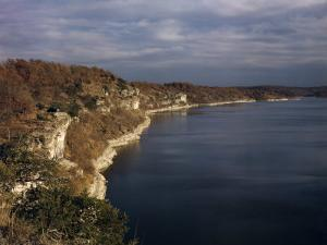 Limestone Bluffs Rim Scenic Lake of the Ozarks by Joseph Baylor Roberts