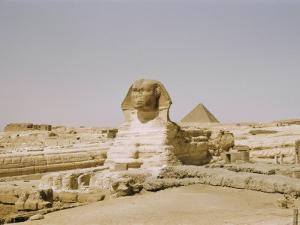 Traditional View of the Great Sphinx at Giza by Joseph Baylor Roberts