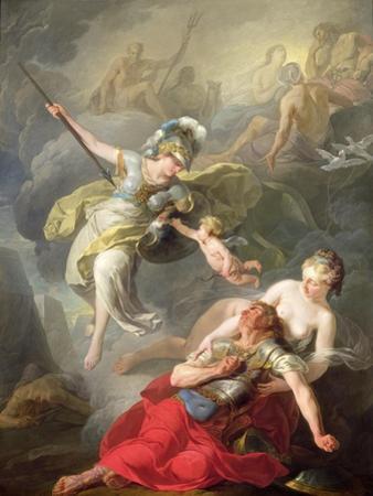 Battle Between Minerva and Mars, 1771