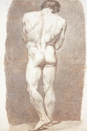 Study of a Male Nude, Seen from Behind, 1774