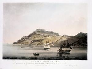 View of Fort Charlotte in the Island of St. Vincent, Engraved and Pub. by Francis Jukes… by Joseph Billinghurst