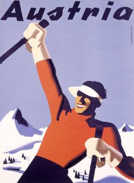 Austria Ski Vacation by Joseph Binder