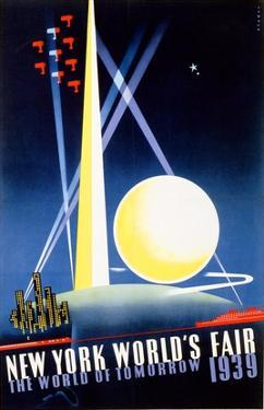 New York World's Fair, World of Tomorrow by Joseph Binder