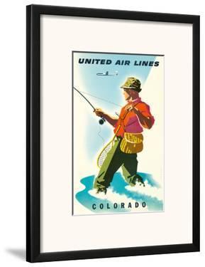 United Air Lines: Colorado, c.1950s by Joseph Binder