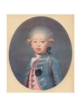'Louis-Antoine d'Artois Duke of Angouleme', c1785 by Joseph Boze
