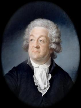 Portrait of Honoré Gabriel Riqueti, Comte De Mirabeau (1749-179) by Joseph Boze