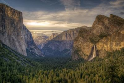 Tunnel View of Yosemite Valley by Joseph Burke