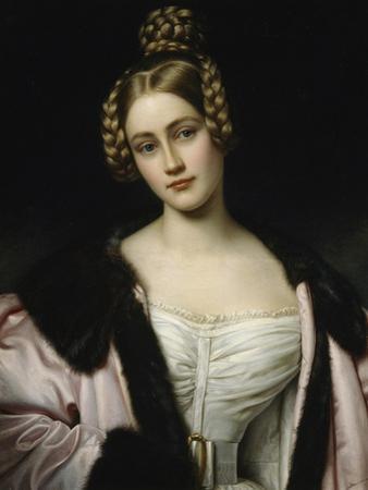 Portrait of Caroline Grafin Holnstein (1815-59), 1834 by Joseph Carl Stieler