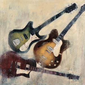 Guitars I by Joseph Cates