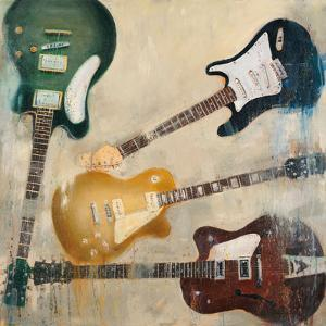 Guitars II by Joseph Cates