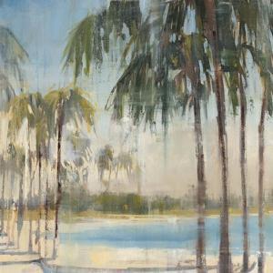 Ocean Palms IV by Joseph Cates