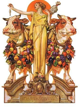 """""""Ceres and the Harvest,""""November 23, 1929"""