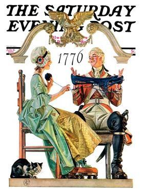 """Truce,"" Saturday Evening Post Cover, July 4, 1931 by Joseph Christian Leyendecker"
