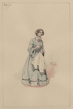 Agnes Wickfield, C.1920s by Joseph Clayton Clarke