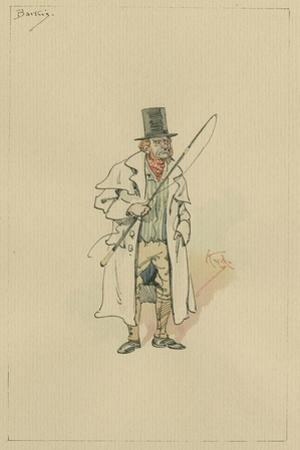 Barkis, C.1920s by Joseph Clayton Clarke
