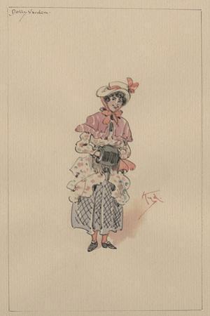 Dolly Varden, C.1920s by Joseph Clayton Clarke