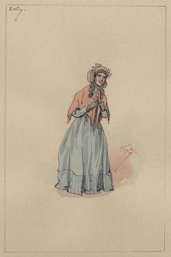 Emily, C.1920s by Joseph Clayton Clarke