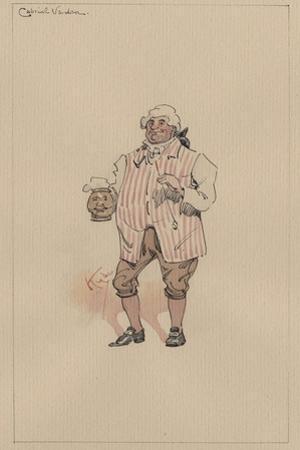 Gabriel Varden, C.1920s by Joseph Clayton Clarke